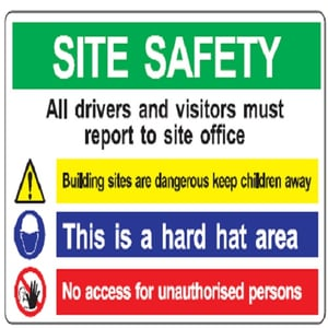 High Quality Safety Display Boards
