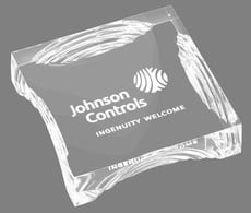 Printed Acrylic Paper Weight