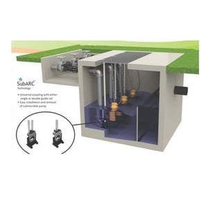 Kishor 440 Nm3/HR Submersible Pump With Aerators