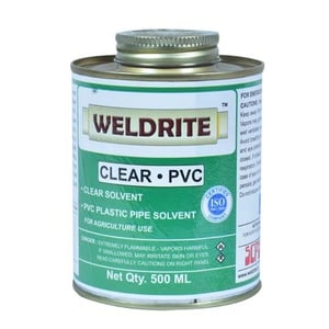 Weldrite PVC Clear Solvent