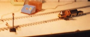 Electric Toy Train System