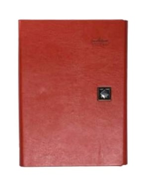 Grand Gifts Corporate Diary Red Refillable Ring Binder