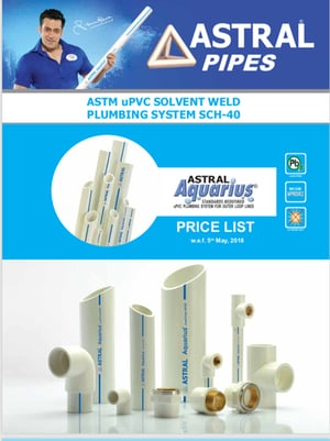 UPVC Pipe and Fittings (Astral)