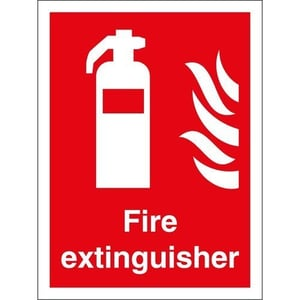 Customized Fire Extinguisher Signs