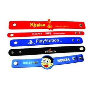 High Quality Rubber Wristbands