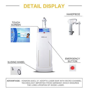 Vertical Diode Laser Hair Removal