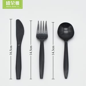 Disposable Corn Starch Cutlery Set