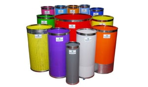 HDPE Spinning Card Cans