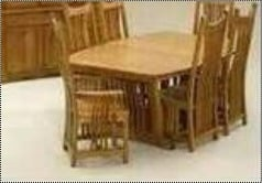 Wooden 6 Seat Dining Table