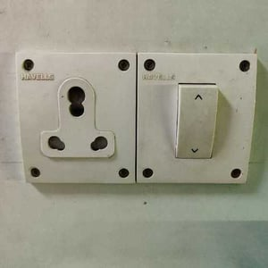 Electrical Plastic Switches Board
