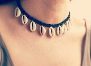 Shell Cowrie Jewellery( Necklace)
