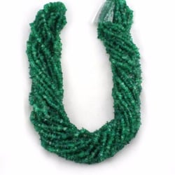Green Onyx Uncut Chips Beads