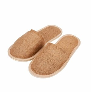Jute Slippers With 5mm Sole