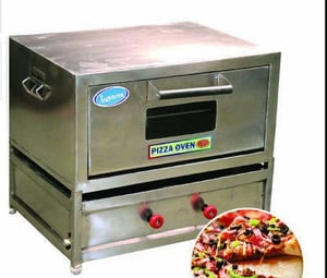 Stainless Steel Pizza (Gas) Oven