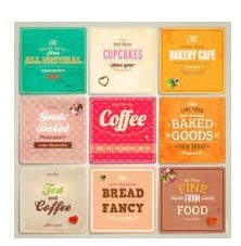 Bakery And Confectionery Food Labels
