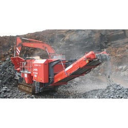 Industrial Mobile Jaw Crusher