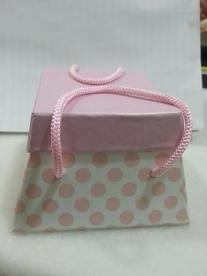 Pink And Blue Color Baby Boxes