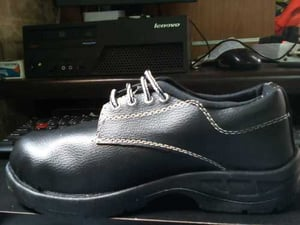 PVC Sole And Synthetic Leather Panther Safety Shoes