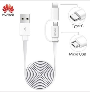 Data Cable 2 In 1 1.5 Meter in Length (Huawei)