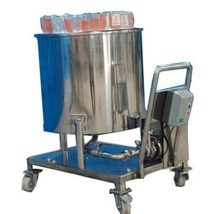 Bottle Rejection Machine With Trolley