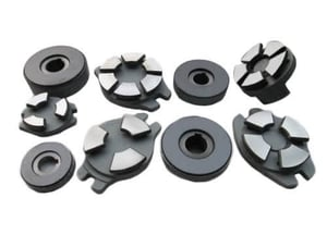 Pure Carbon Thrust Bearing