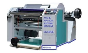 ATM And POS Roll Slitting Machine