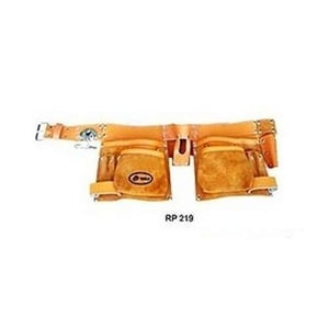 Double Leather Tool Bag