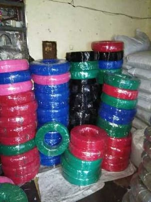 Color PVC Sleeve And Tubes