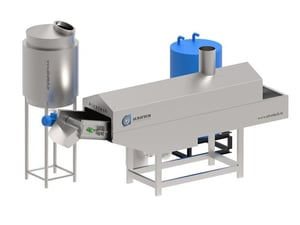 Compact Multi Product Frying Line