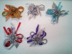 Fancy Ribbon And Laces Flower