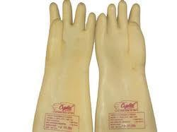 Natural Rubber Electrical Hand Gloves