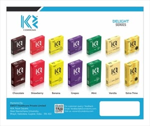 Flavored Dotted Condoms K2