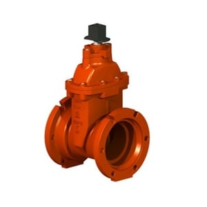 Ductile Iron Resilient Seat Wedge Gate Valve