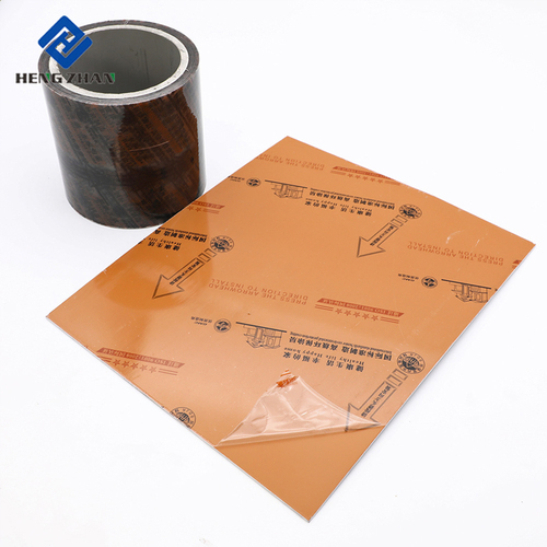 Printed Logo Transparent PE Aluminum Sheet Protective Film