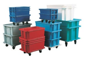 Nestable And Stackable Container