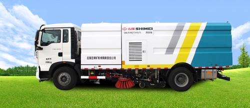 Single Engine Cleaning Sweeper Truck