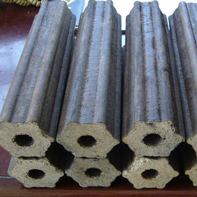 Grade A Hexagonal Shape Sawdust Briquette Charcoal