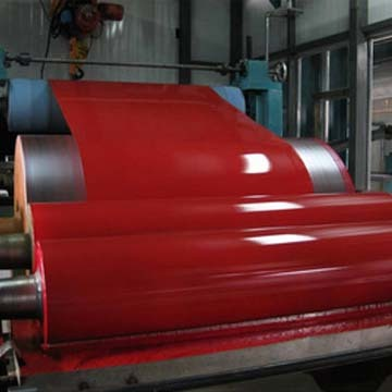 Steel Sheets Red Color (0.12-2.0mm Ppgi)