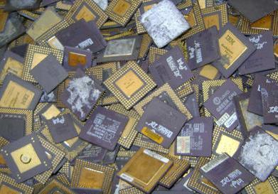 Ceramic Cpu Gold Scrap