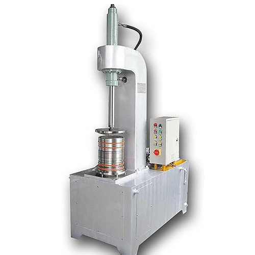 Semi-Automatic Beading And Flanging Machine For 10-20l Steel Pail Bucket Making