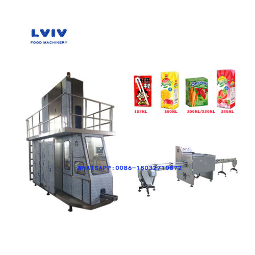 Aseptic Brick Juice Filling And Packing Machine in Cangzhou