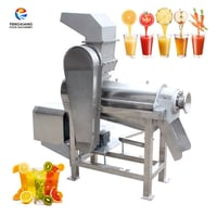 Automatic Industrial Screw Fruit Juice Extracting Pulping Machine