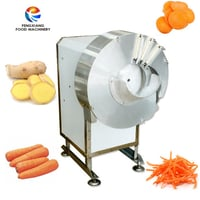 Automatic Ginger Carrot Potato Cutting Shredding Slicing Machine