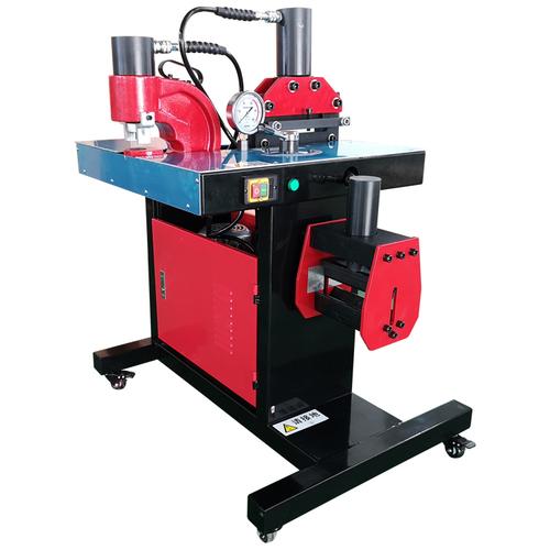 Combined 3 in 1 Hydraulic Copper Busbar Manual Bending Punching Cutting Machine