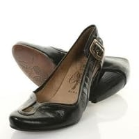 Black Formal Ladies Leather Shoes