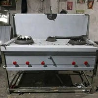 Stainless Steel Gas Cooking Range