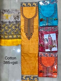 Attractive Cotton Embroidery Suits