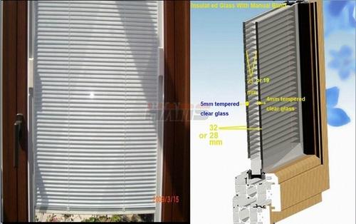 Manual Igu Venetian Blinds Certifications: Iso900