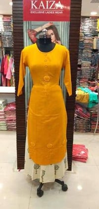 Ladies Fancy Cotton Kurtis