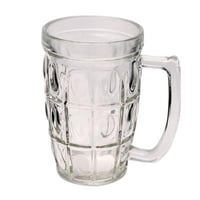 Antique Transparent Glass Mug